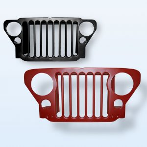 Military Jeep - Grille & Accessories